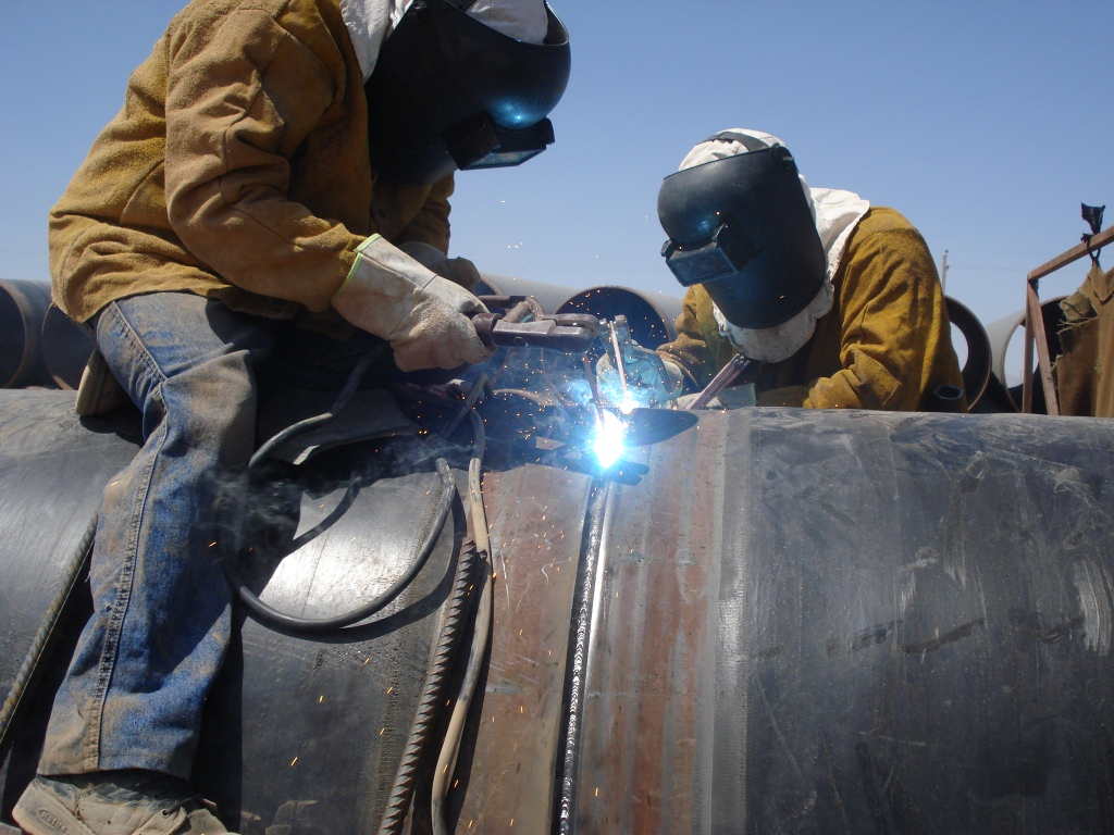 e- 48-inch welding