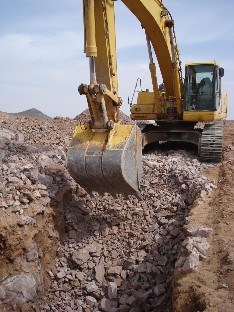 z   trench digging